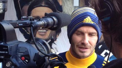 Beckham Proud of Soccer's Progression in United States