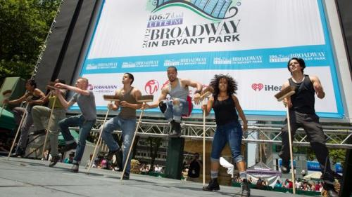 Broadway Comes to Bryant Park