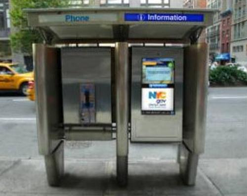 City's Pay Phones To Be Replaced By New Futuristic Model
