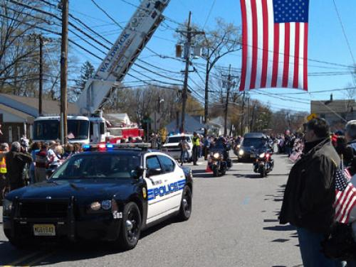 Community Pays Tribute To Fallen Waldwick Marine Killed In Afghanistan