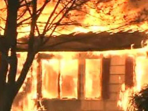 Early Morning Fire Destroys Suffolk County Home