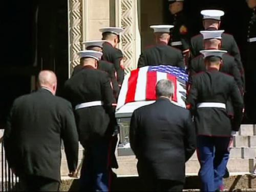 Funeral For Waldwick Marine Joseph D'Augustine Killed In Afghanistan