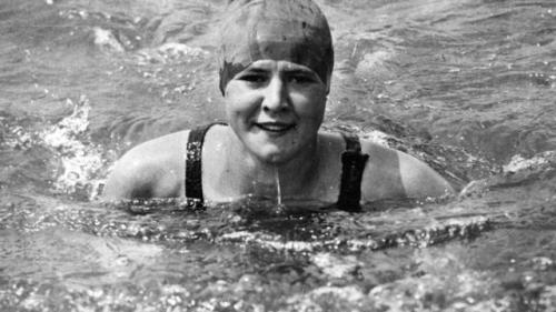 Gertrude Ederle, Olympic Champion and Gritty New Yorker