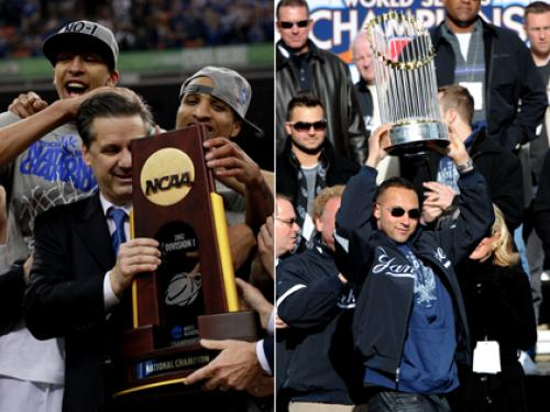 History Shows Kentucky's NCAA Title Means Yankees Will Win The World Series