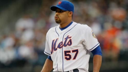 Johan Santana Gets Back in the Groove