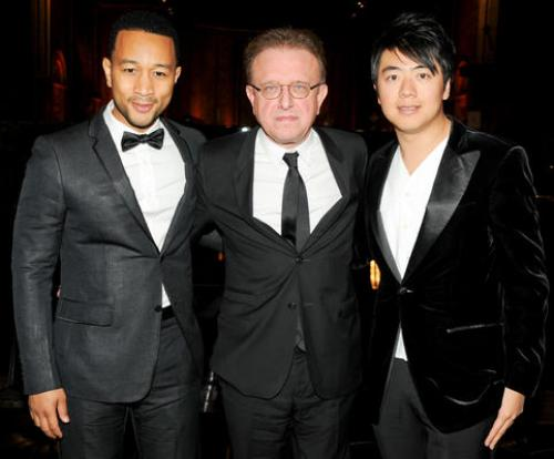 John Legend Takes it to Church, Talks Fashion