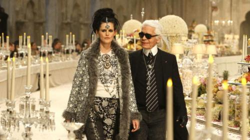 Lagerfeld Heads to NYC for Latest Campaign