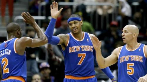 'Melo Gets a Little Help from His Friends This Time