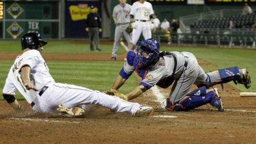 Mets Drop Lead, Ball and Game in Pittsburgh