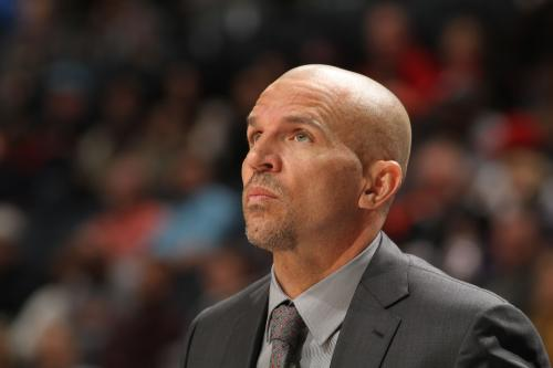 NBA Fines Kidd $50K For Spilling Drink On Court