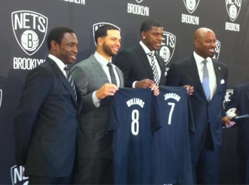 Nets Celebrate 'Brooklyn's Backcourt' With Bash At Borough Hall Plaza