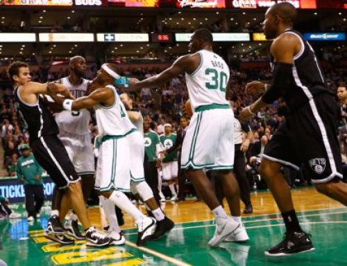 Nets Throw Down, Then Beat Down Celtics In Boston