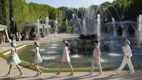 One Shot: Chanel Shows Cruise Collection at Versailles