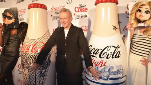 One Shot: Jean Paul Gaultier Unveils New Diet Coke Bottles