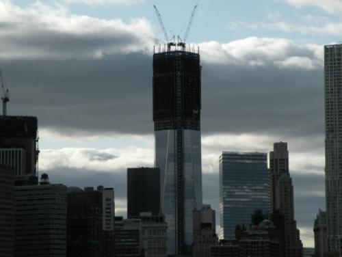 One World Trade Center Reaches 100 Floors