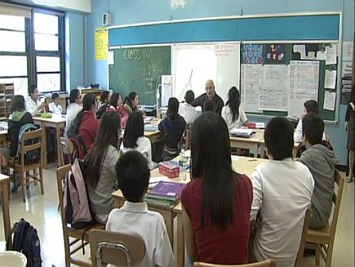 Parents, Teachers Protest Unsafe Conditions At Williamsburg School