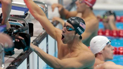 Phelps Record Caps Off Day of Dominant Performances