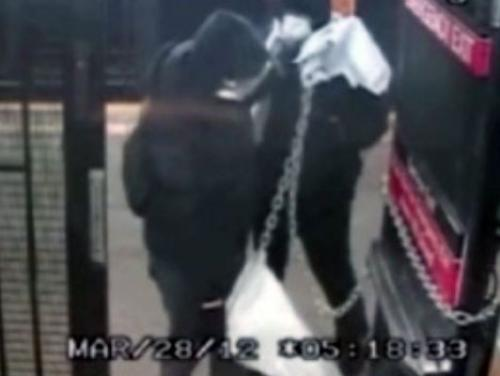 Police Looking For Suspects Accused Of Chaining Open Subway Doors For Free Rides
