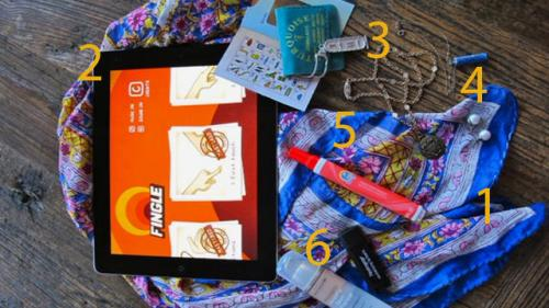 Purse Purge: Vintage Buyer Carries Tide Sticks, Printed Scarves