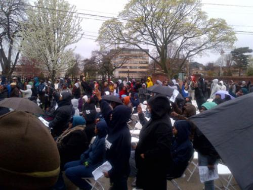 Rallies Take Place In Hempstead, Hartford In Support Of Trayvon Martin