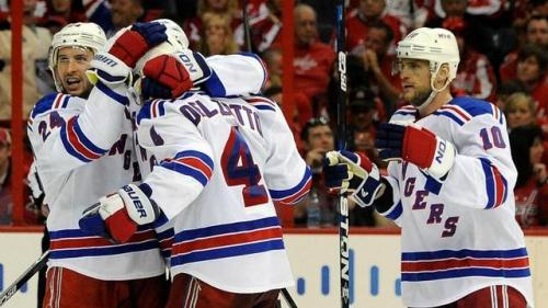 Rangers Triple Their Pleasure in Triple OT