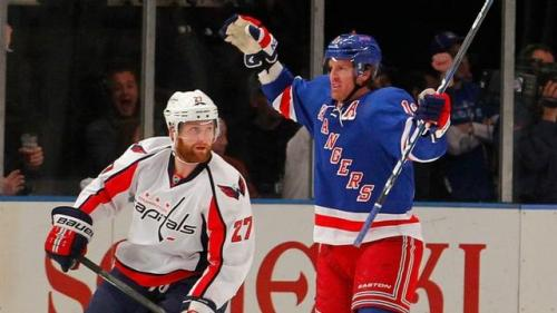 Seventh Heaven: Rangers Oust Capitals