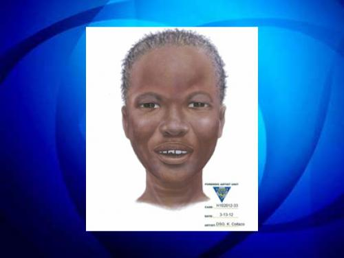 Sketch Of Woman Whose Body Washed Up Along Passaic River Released
