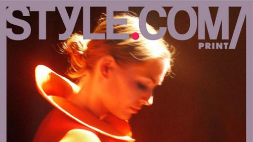 Style.com/Print's Second Issue Is a Love Letter from Fashion Week