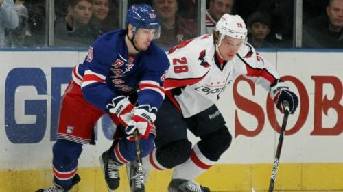The Rangers Look Into Mirror, See Capitals