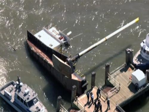 Tugboat Capsizes Near Liberty Island; 3 People Rescued