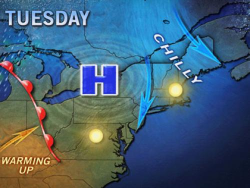 Warm Weather Too Good To Be True? Yep, It's Nippy Again In New York