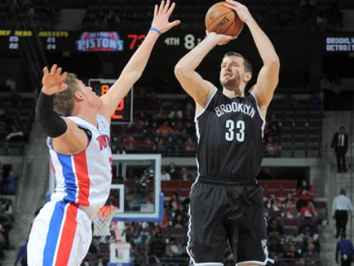 WATCH: Nets' Teletovic Airballs 3 Straight Shots