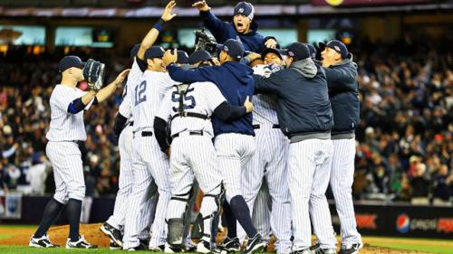 Yanks Clinch ALDS With Game 5 Win