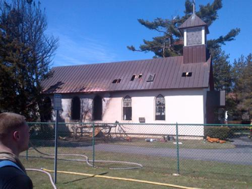 127-Year-Old Church Youth Center Destroyed On Long Island